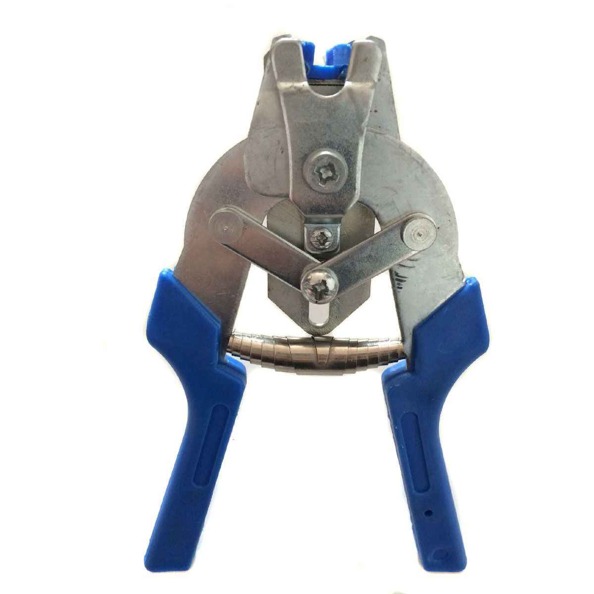 Wsfs 1Pc Hog Ring Tang Tool En 600 Stuks M Clips Kip Mesh Kooi Draad Hekwerk Krimpen Soldeerverbinding lassen Reparatie Handgereedschap