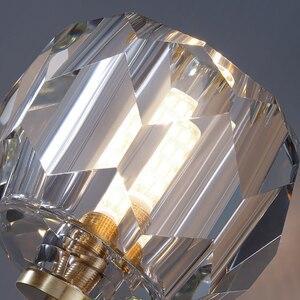 Image 4 - Nordic moderno pingente luzes restaurante único/4 cabeça bolas de vidro pendurado lâmpadas sala jantar espiral loft pingente luminárias