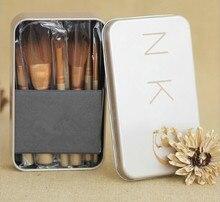 12 unids/set URBANA NAKED 3 cepillo pinceles de maquillaje NK 3 Profesional maquillaje del kit del cepillo maquiagem belleza ojo caja de herramientas de Metal