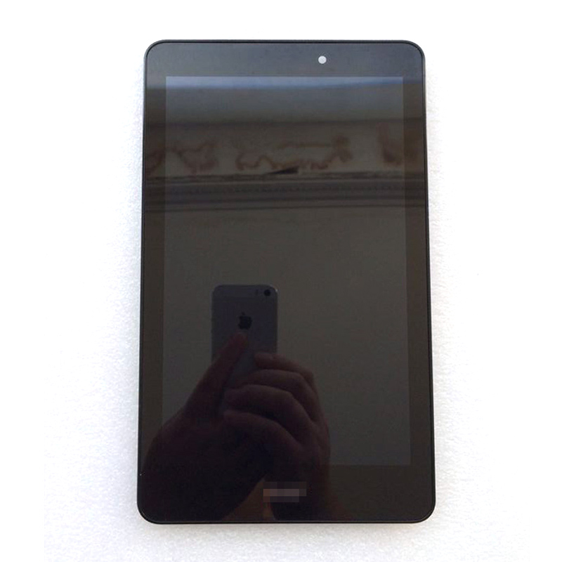 LCD Display Touch Panel Screen Glass Assembly with frame For Acer Iconia Tab 8 A1-840 A1 840 Black