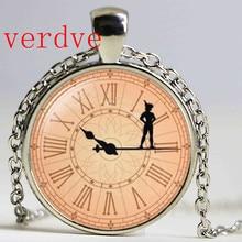 цена на Peter pan pendant, Neverland necklace, Peter pan Necklace, Peter Pan Jewelry
