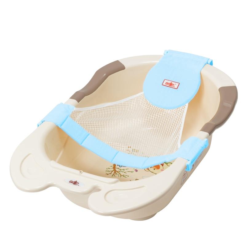 ヾ(^▽^)ノBaby Bat Mesh Sling Rack Shower Plate Baby Kid Bath Bed ...