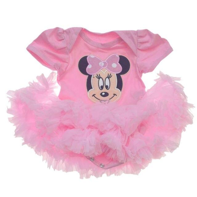 6f660460a6c58 2018 nouveau-né bébé fille vêtements Bebes body Minnie barboteuses noël  Cosplay vêtements bébé Costume