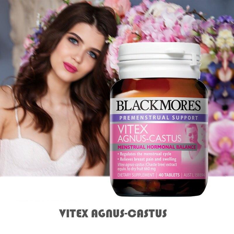 Australia BM Vitex Agnus Castus Support Female Women Reproductive Health Menstrual Cycle Regulation PMS Menopause Symptom Relief