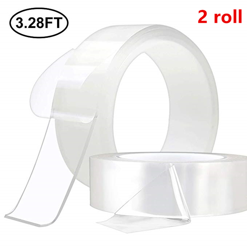 New Multifunctional Double-Sided Adhesive Nano Tape Traceless Washable Reusable Tapes Indoor Outdoor Removable Sticker Home Tool