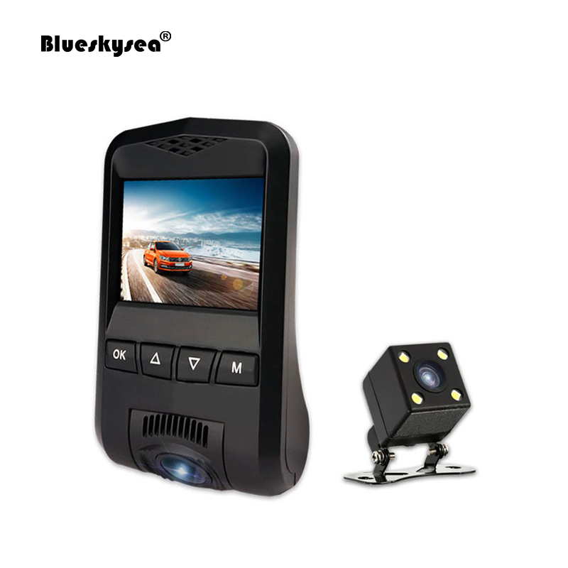 N360 Wifi HD 1080P Dual Lens Car Dash Camera DVR Vehicle Video Recorder Cam Novatek Motion Detect WDR 170 Degree Wide Angle