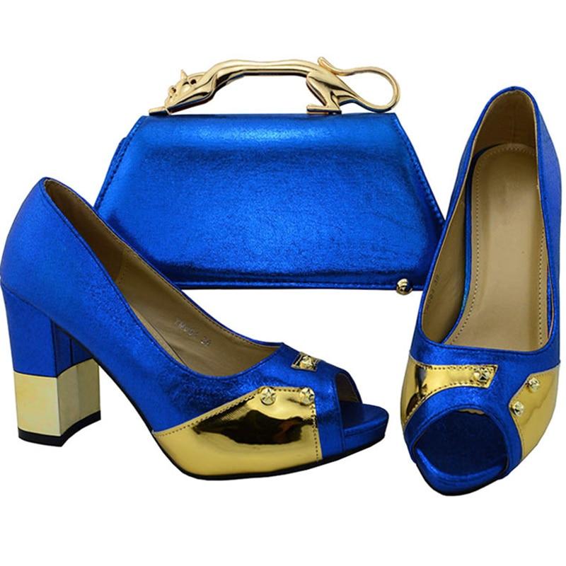 Bolsos rojo fuchsia Del Bolsas Green Y Negro Zapatos Bolso Sistema Con Decorado azul El Los Limón púrpura Juego Africanos Rhinestone lemon oro Verde A w1qIg0