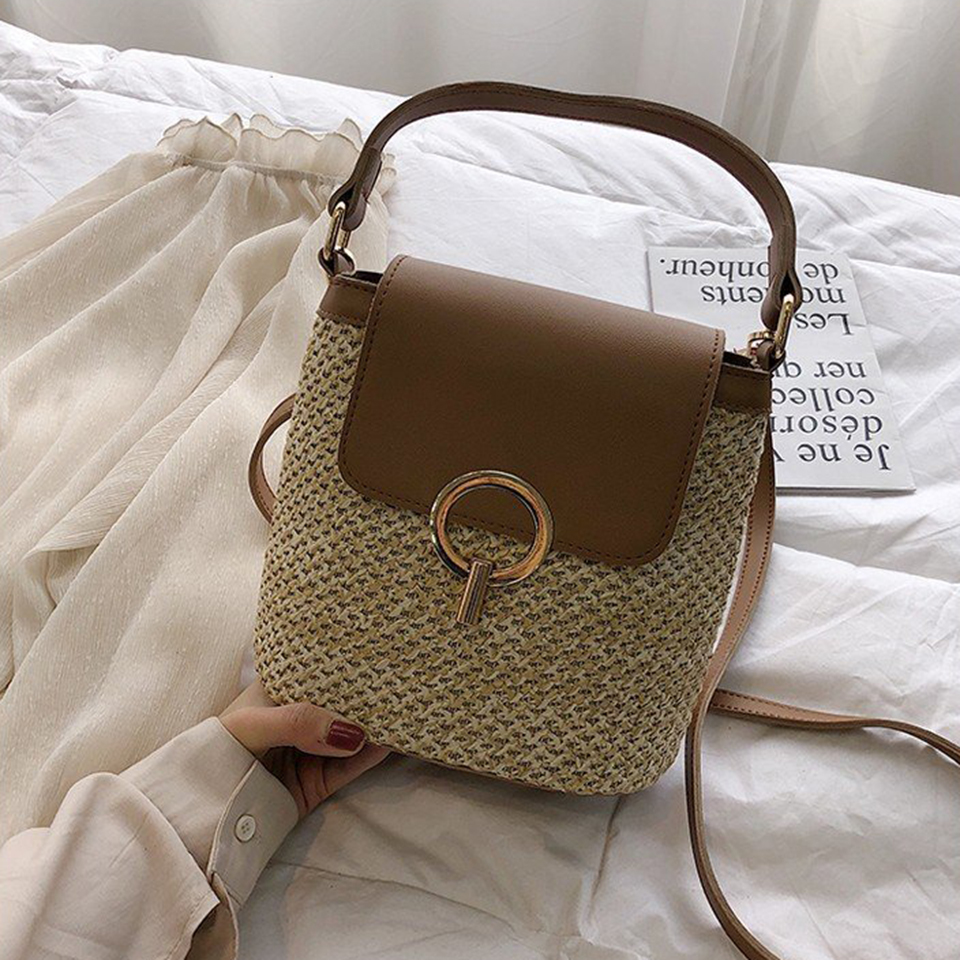 Straw Bucket Bag (6)