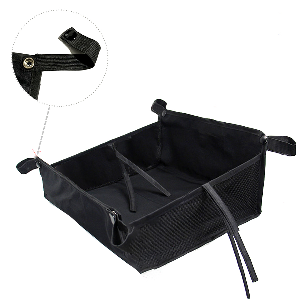 Bottom Basket Organizer Home Stroller Storage Bag Universal Oxford Cloth Large Capacity Baby Pushchair Outdoor Accessories