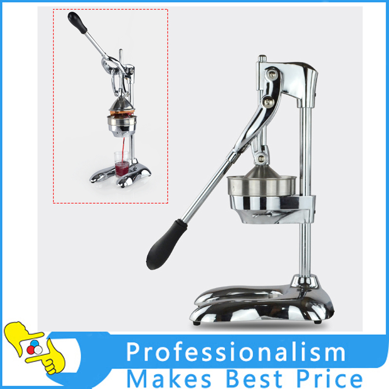 Hot Commercial Stainless Steel Manual Press Orange Citrus Juicer Juice Extractor