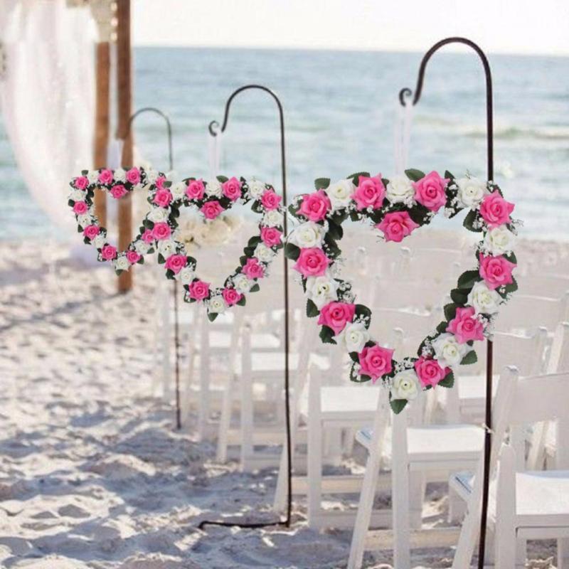 Καρδιά με σχήμα στεφάνι Ρομαντικό - Προϊόντα για τις διακοπές και τα κόμματα - Φωτογραφία 1