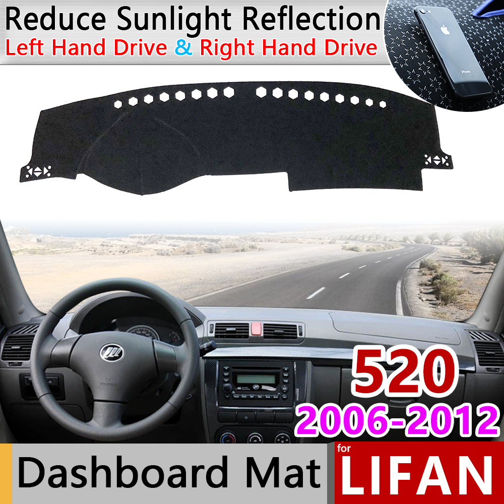 For Lifan 520 520i 2006 2007 2008 2009 2010 2011 2012 Breez Anti-Slip Mat Dashboard Cover Pad Sunshade Dashmat Car Accessories