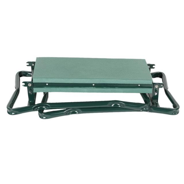 Garden Kneeler and Seat Folding Stainless Steel Garden Stool with Tool Bag EVA Kneeling Pad Gardening Gifts Supply 4