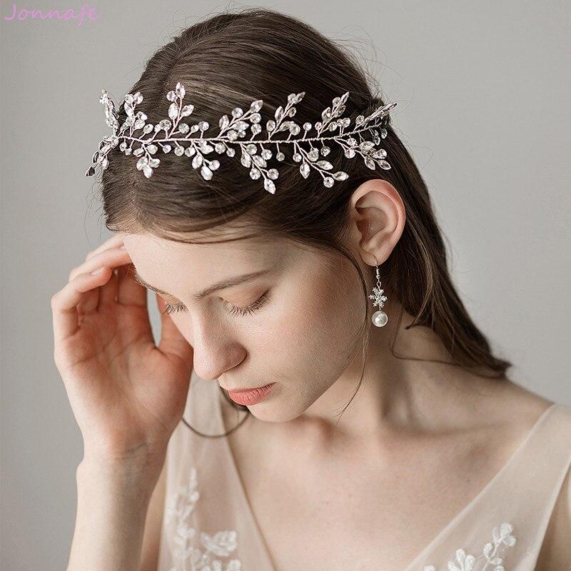 Bride Comb Women Rhinestone Jewelry Hair Gold Silver Handmade Wedding Prom Tiara