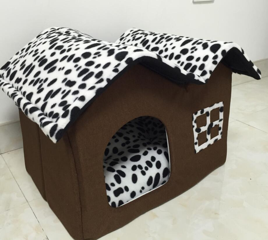 Small pet dog cat bed tent house Kennels for small dog winter Soft dog puppy Bed indoor House bed nest cushion SE13-in Houses Kennels u0026 Pens from Home ... & Small pet dog cat bed tent house Kennels for small dog winter Soft ...