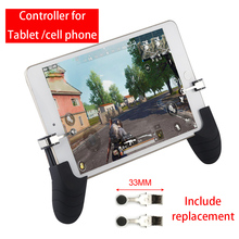 For PUBG Cell Phone Mobile control Gamepad Trigger Fire Button Aim L1R1 Shooter Controller For IOS Ipad Android Xiaomi Joystick