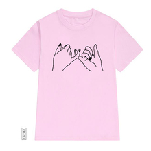 PINKY PROMISE Women tshirt Cotton Casual Funny t shirt Lady Yong Girl Top Tee 5