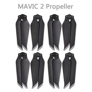 Image 2 - 4 쌍 mavic 2 pro/zoom 8743f dji mavic 2 pro/zoom drone 액세서리 용 저소음 퀵 릴리스 프로펠러 블레이드