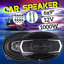 2pcs 1000W Car Auto Audio Speaker Horn 6