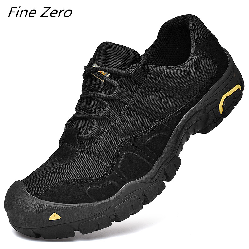 New Outdoor Mens Hiking Shoes Waterproof Breathable Tactical Combat Army Boots Desert Training Sneakers Anti-Slip Trekking Shoes(China)
