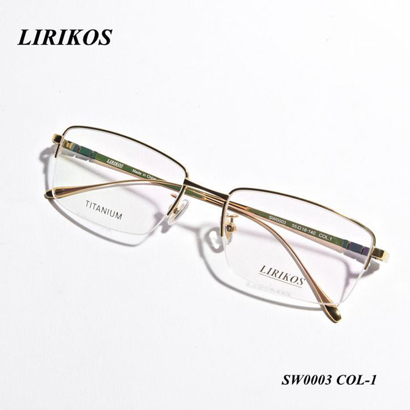 LIRIKOS Pure Titanium Anti Corrosion Business Men Reading Glasses Reading Clear Eye Lens male Spectacle Eyewear Accessories in Men 39 s Eyewear Frames from Apparel Accessories