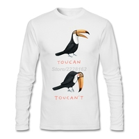 Men S Casual Graphic T Shirts Mens Toucan Toucan T XS 3XL Birds Quilt Shirt Formal