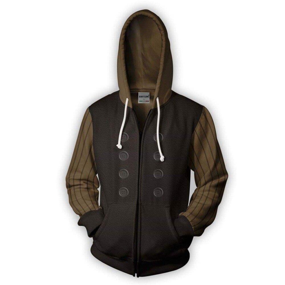 BIANYILONG 2019 new Zip Hoodie-Spider MaSpider-man Noir 3D printed hoodies tracksuit Casual zipper hoodie hip hop tops