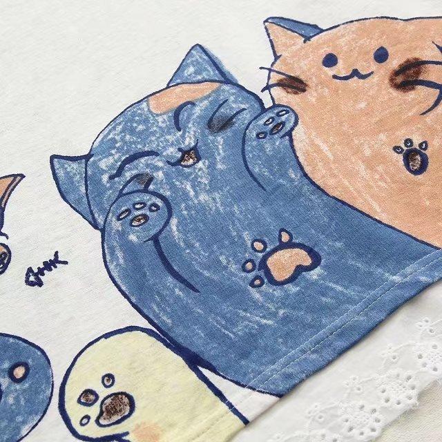 Woman Cat Printed Hoodies  My Pet World Store