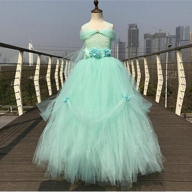 Online Shop 2017 tulle baby cinderella flower girl wedding dress ...