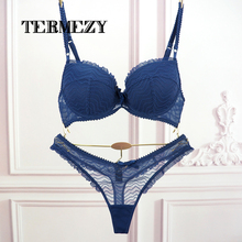 Undiz VS Thong font b Bra b font font b Set b font Push Up French