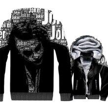 New Arrival Mens Sweatshirts 2018 Autumn Winter Jackets 3D Pattern Batman The Dark Knight Harajuku Hoodies For Men Joker Hoody