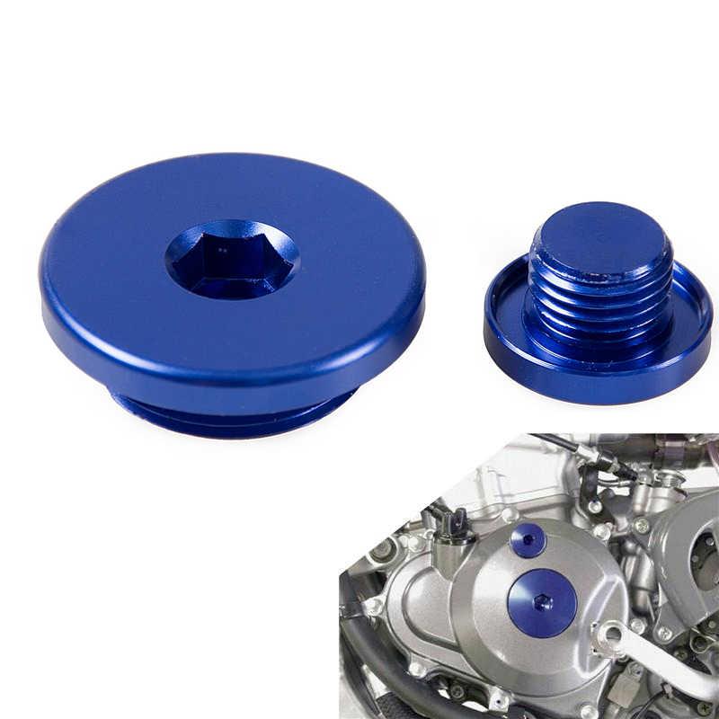 Engine Timing Cover Plug Cap For Yamaha WR250F WR450F 2003-2015 WR 250F  450F YZ450F 2006-2009 For ATV YFZ450 YFZ 450 2012-2013