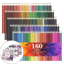 Professional 160 Oily Art Coloured Pencils Set for Adult Coloring Books Artist Drawing Sketching Crafting for Beginners/Artist(China)