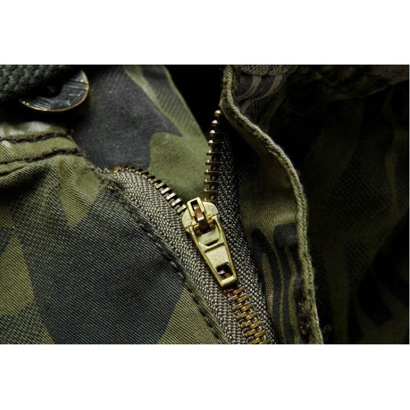 AmberHeard 2019 Mode Männer Shorts Masculino Camouflage Homme Cargo - Herrenbekleidung - Foto 6