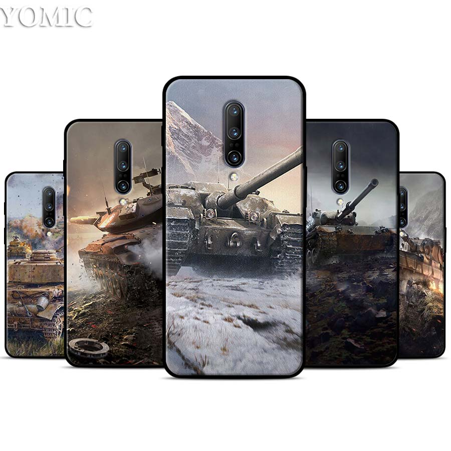 world of tanks Silicone Case for font b Oneplus b font font b 7 b font