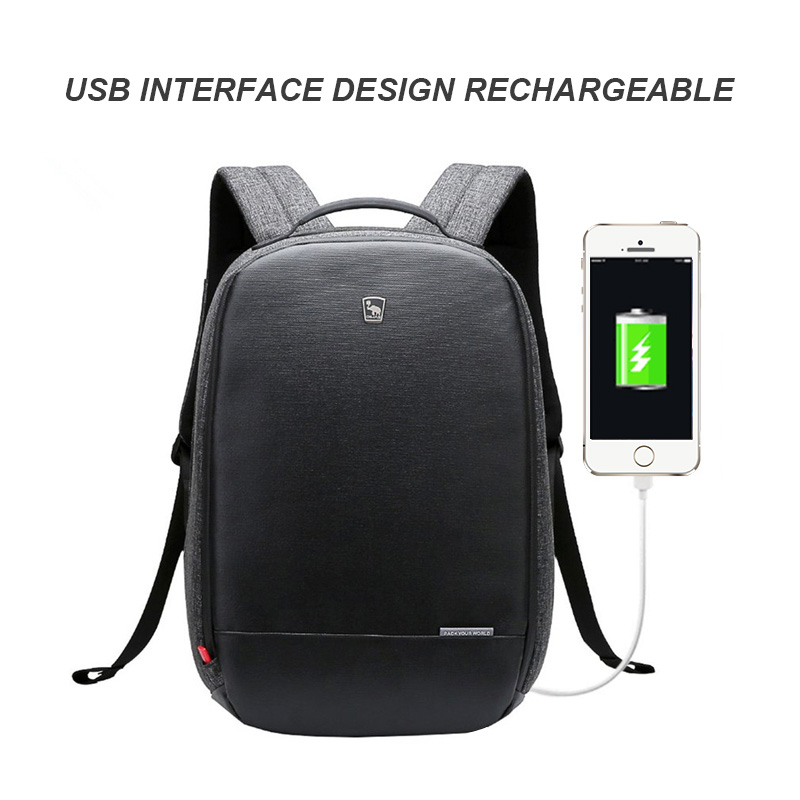 OIWAS anti theft Backpack Laptop Bag Waterproof with USB charging Business Teenagers School Bag Travel OCB4338
