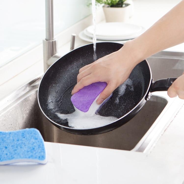 губка для посуды целлюлозная купить в Китае