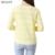 De mulheres v-neck Cardigans moda primavera verão blusas Mujer Tricotado 2016 nova de manga comprida Crochet Femme