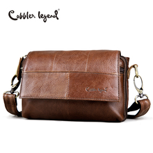 Cobbler Legend Original Women's Messenger Bag Genuine Leather Small Handbags Vintage Crossbody Shoulder Bags For Women #803211