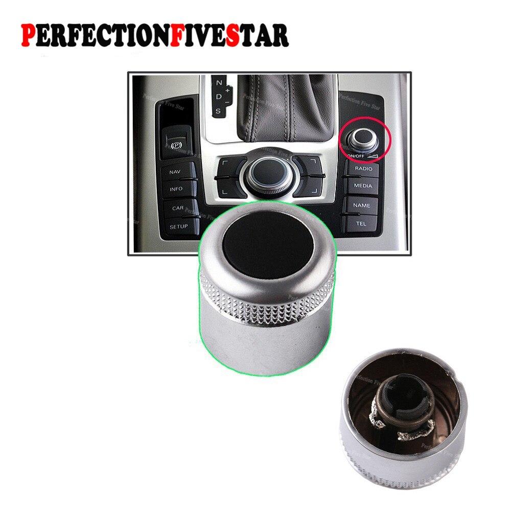 Multimedia MMI Volumen Knob Dreh Taste Schalter Einstellung Navigation Für Audi A6 C6 S6 Allroad 05-08 Q7 2007 2008 A8 S8 4F0919070