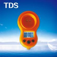 Tds метр детектор качества воды тестер ручка тяжелые металлы минералы аквариум качество воды монитор инструмент Отображение времени 0-9999ppm