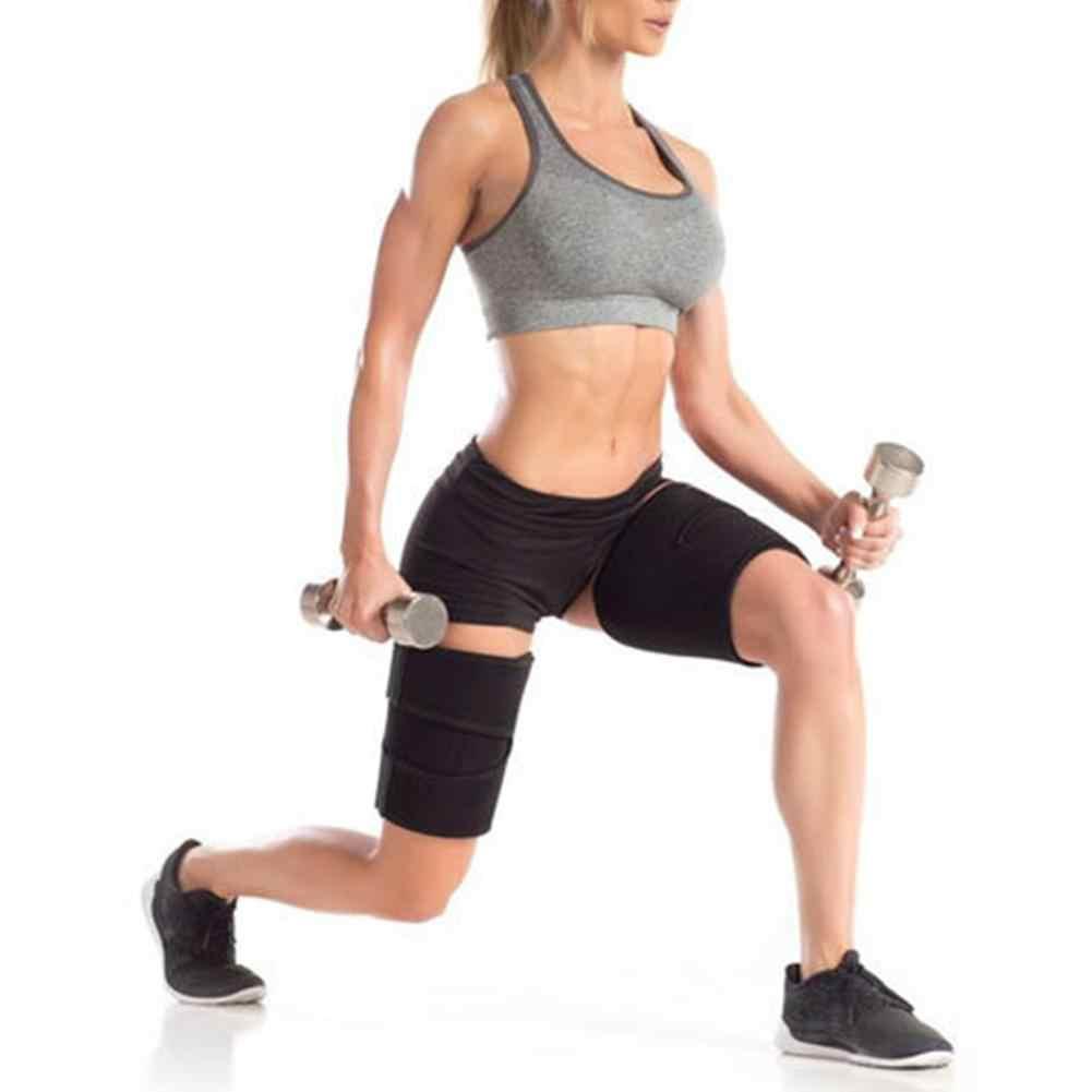 レッグシェイパー脚カロリー脂肪除去重量損失ストーブパイプゴム圧縮レギンス腿トリマー
