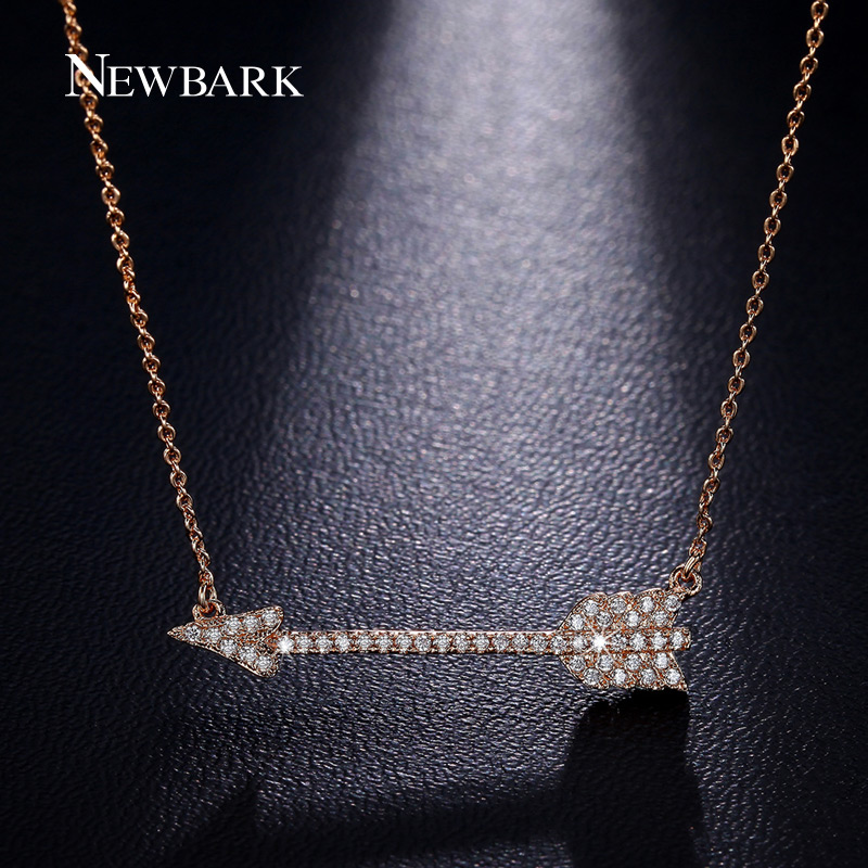font b NEWBARK b font Love Cupid s Arrow font b Necklaces b font Pendants