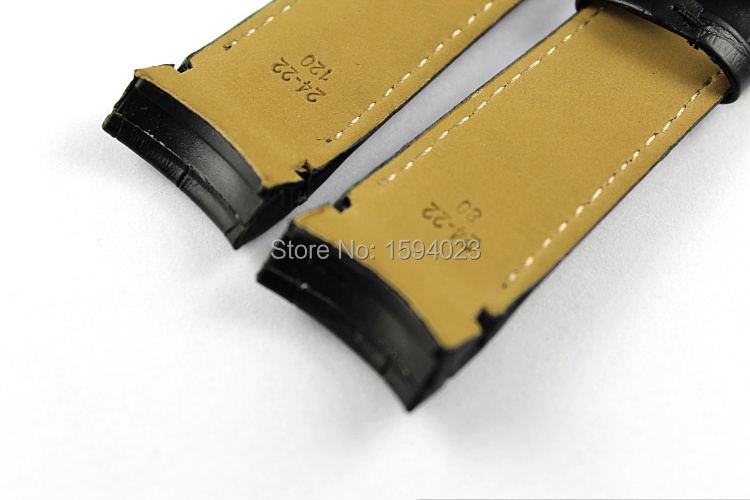24mm (Toka 22mm) T035627 T035614A Yüksek Kalite Gümüş Kelebek - Saat Aksesuarları - Fotoğraf 4
