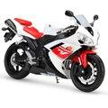1:10 Modelos de Motocicletas YZF-R1 YZFR1 Modelo de Simulação de Modelos De Metal Diecast Brinquedo Raça Da Bicicleta Do Motor Em Miniatura Para a Coleta de Presente
