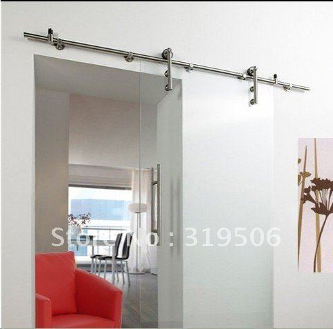 Glass Barn Door Shower Doors.Free Shipping Modern Stainless Steel Barn Door Hardware For