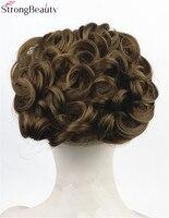 Strong Beauty Women S Synthetic Hair Chignon Combs Clip To Hair Big Bun Wig 16 Color