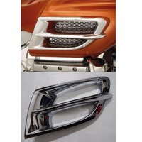 2x Chrome Front Air Vent Exhaust Trims For Honda GL 1800 Goldwing 2001 2006 2001 2002 2003 2004 2005 2006 [PA389]