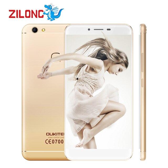"Oukitel U15S 5.5""FHD Octa Core Smartphone 4GB RAM 32GB ROM MTK6750T Android 6.0 13.0MP 1920x1080 Fingerprint ID Mobile Phone"