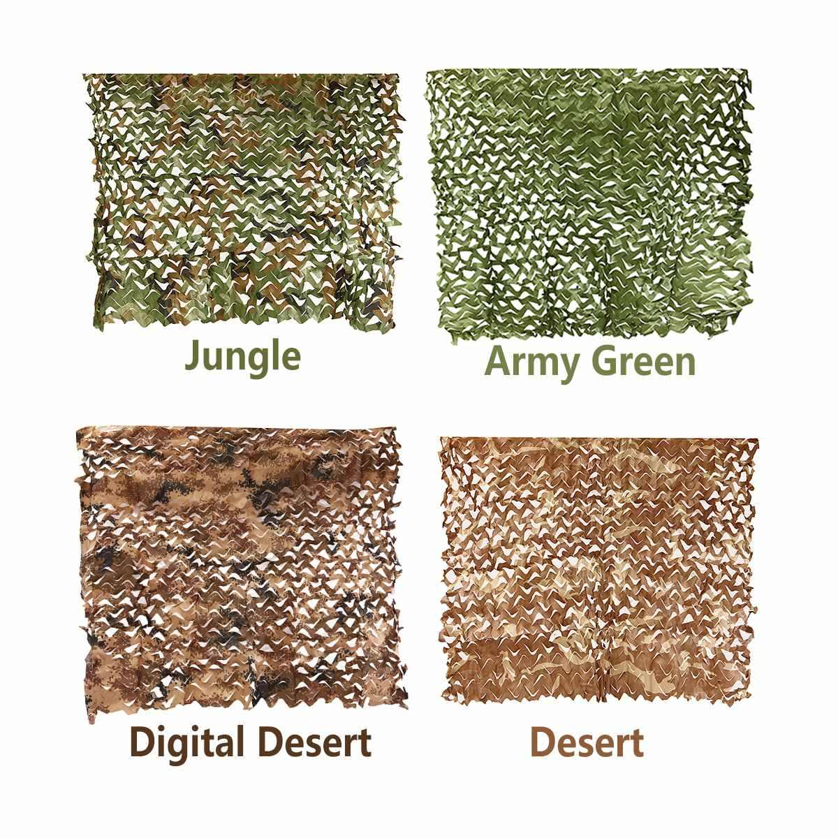 Camo Netting Camouflage Net for Car Cover Camping Woodland Military Hunting Shooting RU ES US AU CN Free Shipping